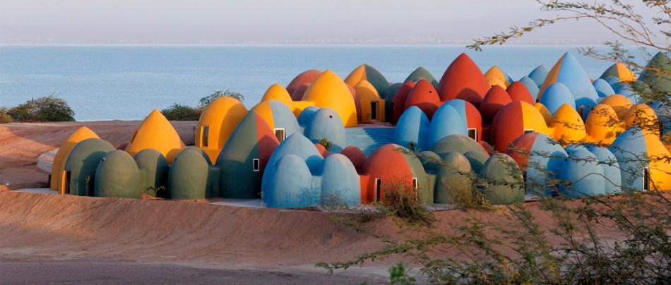 As casas estilo Tatooine no Irã