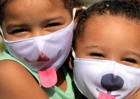 Máscaras engraçadas de animais, para as crianças