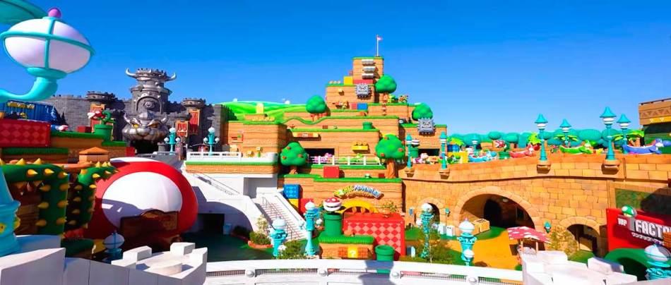 Parque Super Nintendo World inaugura em fevereiro de 2021