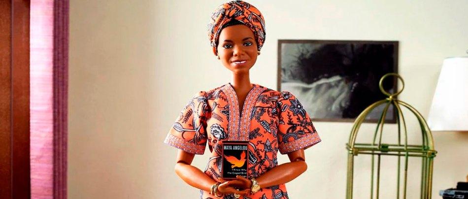 Mattel lança Barbie de Maya Angelou em homenagem a escritora e ativista