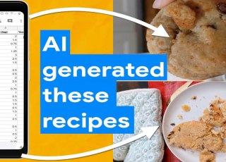 Receitas criadas por uma Inteligência Artificial