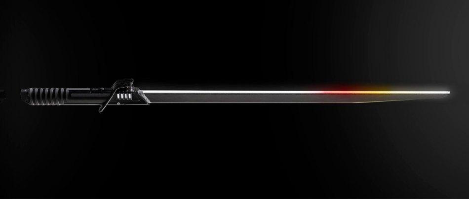 O imponente sabre negro do Star Wars da Hasbro