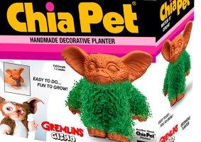 Vaso dos Gremlins de Chia, para você regar e colocar no sol
