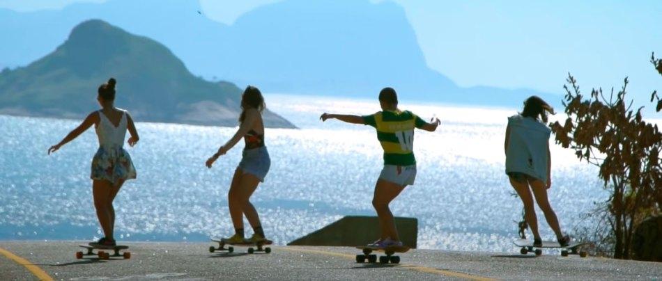 The Girls of Guanabara homenageia grupo de garotas skaters do Rio