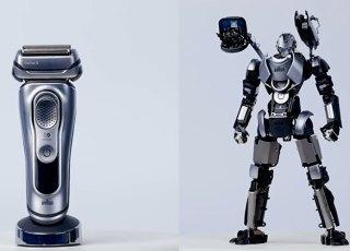 Barbeador elétrico é transformado em uma action figure do War Machine