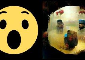 Rede Neural transforma Emojis em obras de Beksiński
