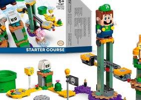 LEGO do Luigi de Super Mario Bros é revelado