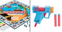 Roblox terá Nerfs e Monopoly em parceria com a Hasbro