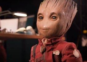 "Disney apresenta um robô do baby Groot ""profissional"""