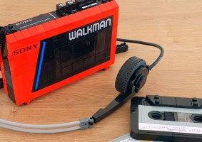 Nostalgia anos 80: Um Walkman feito de LEGO