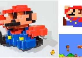 Origami do Mario em 3D: Saiba como fazer o seu