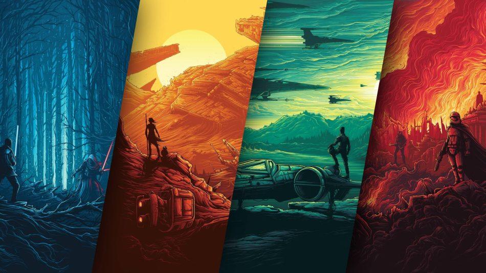 20 Belos e Artísticos Wallpapers de Star Wars para baixar