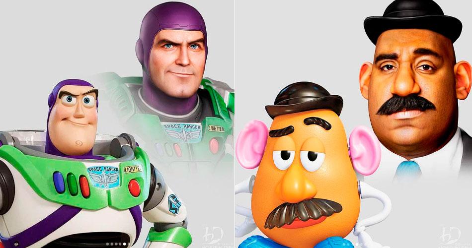Veja como um Toy Story live-action seria aterrorizante