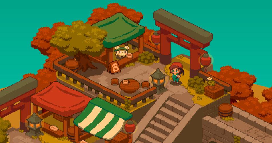 Yokai Inn, um Stardew Valley com estética de Studio Ghibli
