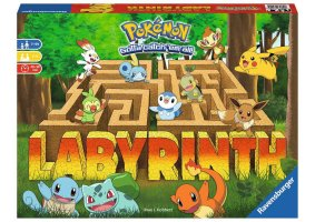 Labyrinth do Pokémon insere os monstros em clássico boardgame