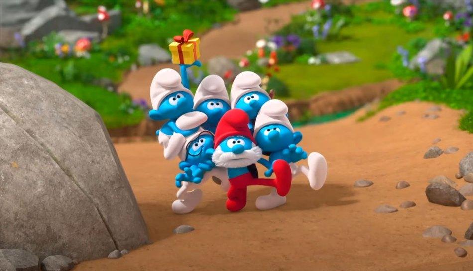 Os Smurfs estão de volta a TV, agora em animação 3D