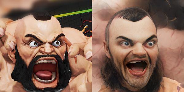 Personagens do Street Fighter realistas via IA