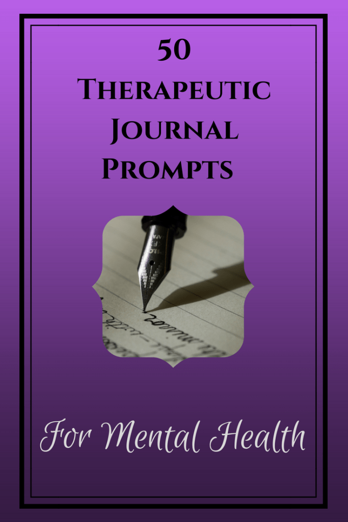 50 Therapeutic Journal Prompts for Mental Health - Nerd