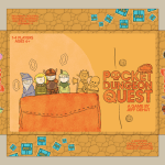 Early Pocket Dungeon Quest concept art box