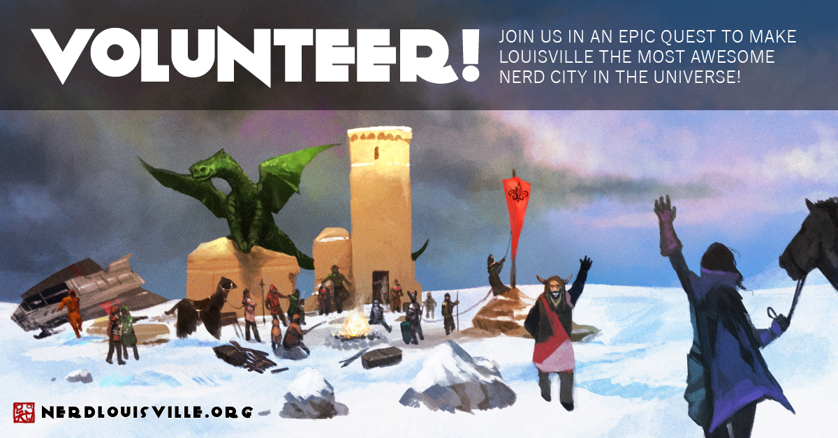 Volunteer With Us! | Nerd Louisville