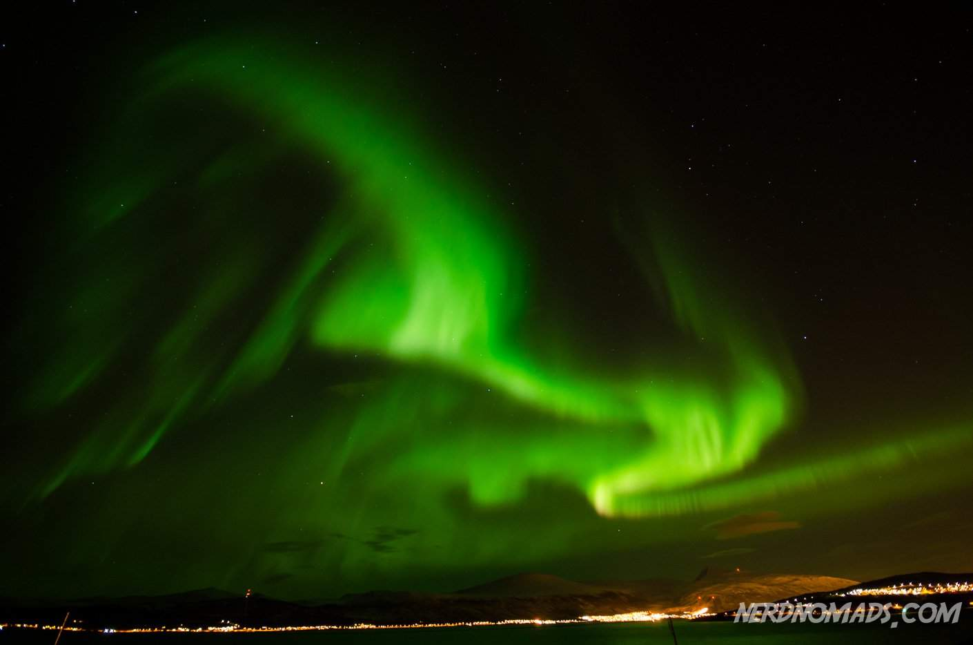 Northern Lights Activity Tromso