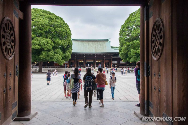 Meiji-jingu Shinto Shrine