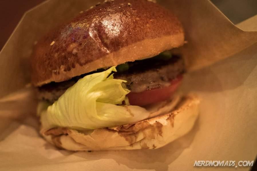 Delicious burger at The Great Burger