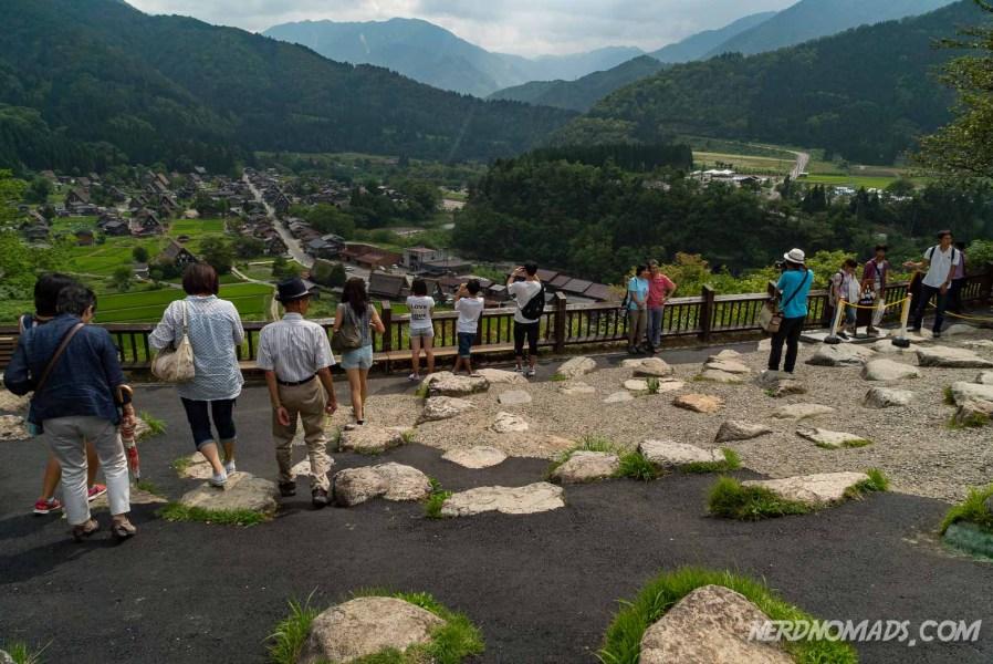 The viewpoint of Shirakawa-go