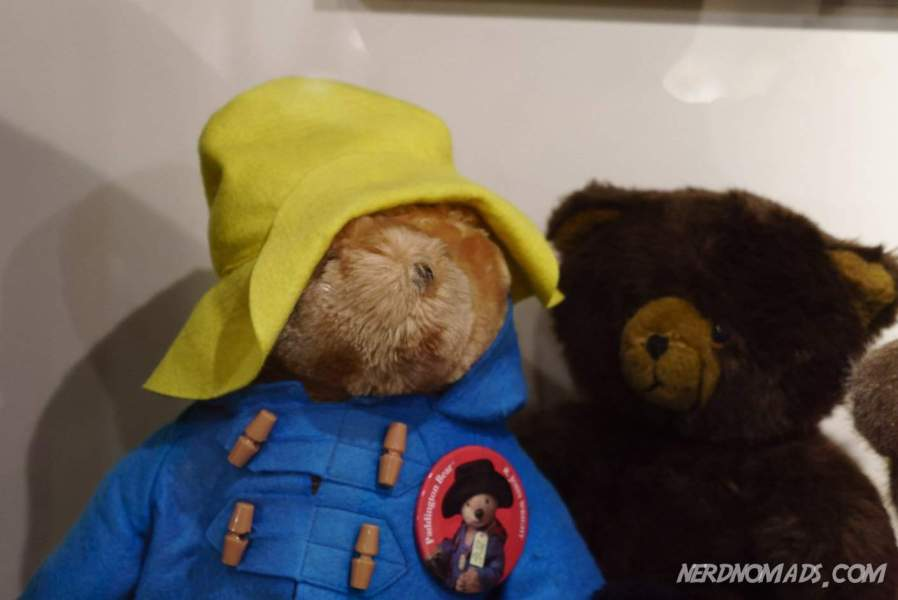 Even Paddington was in the museum with his friends