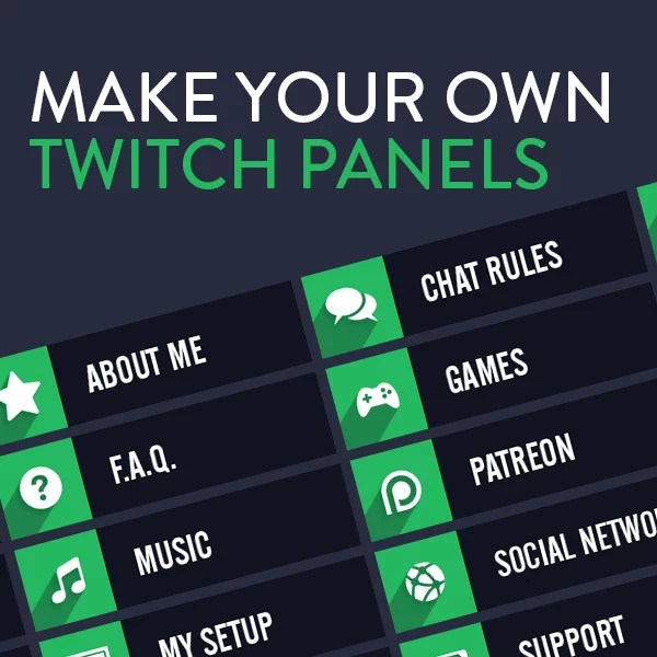 List Of Synonyms And Antonyms Of The Word Twitch Panels