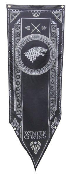 il trono di spade banner - stendardo stark