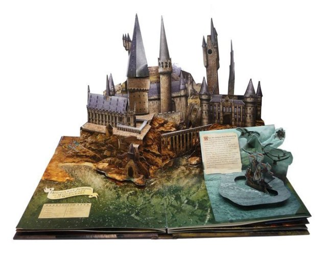 gadget harry potter libro pop up