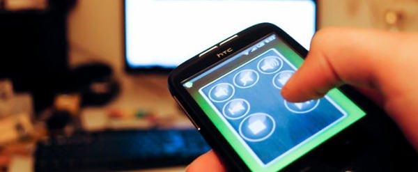 cellulare come telecomando