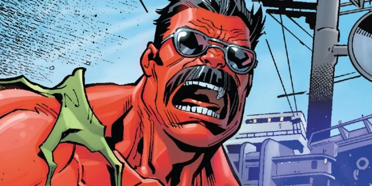 Red Hulk Maverick
