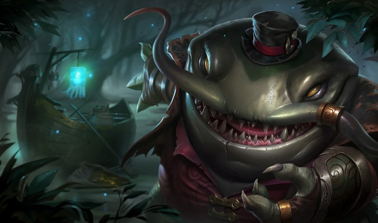 Bug Tahm Kench League of Legends - LoL