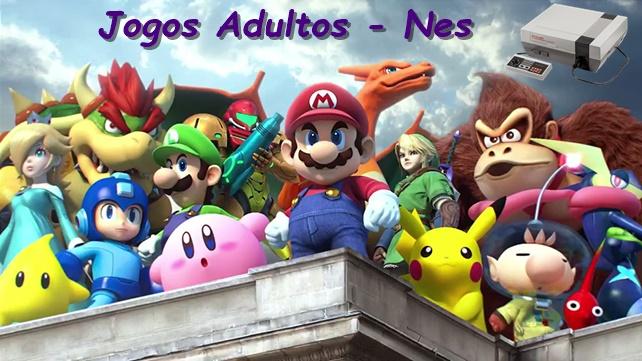 Jogos Adultos na Nintendo (Nes - parte 1)