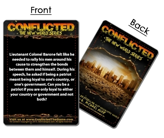 Conflicted, The Survival Card Game