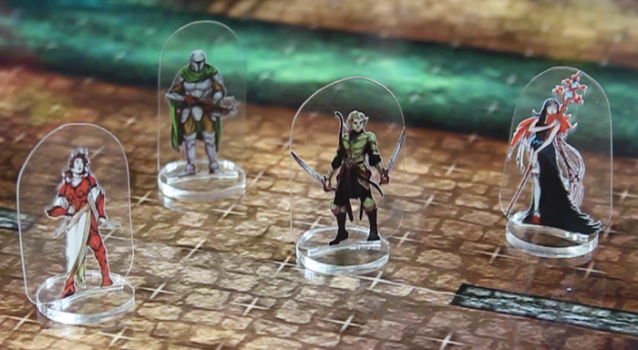 Flat Plastic Miniatures are the best new thing in tabletop gaming