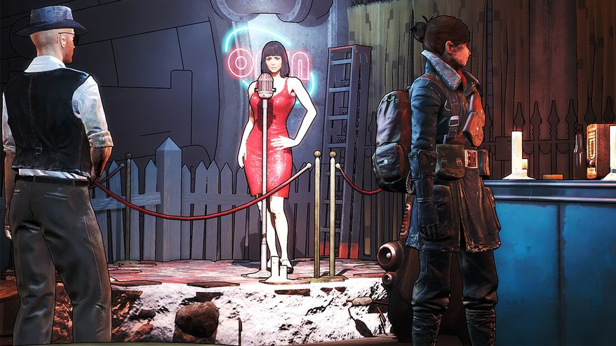 Give Fallout 4 a Borderlands-style look