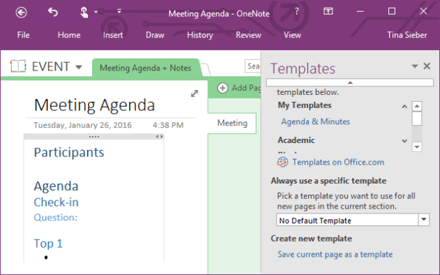 How You Can Use Microsoft OneNote for Project Management | Nerd Rage ...