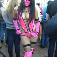Rosanna Rocha the baddest Mileena Cosplay to date