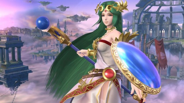 E3 2014 Pac Man And The Goddess Of Light Palutena Join