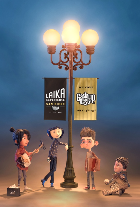 Check Out The LAIKA Experience At SDCC Nerd Reactor