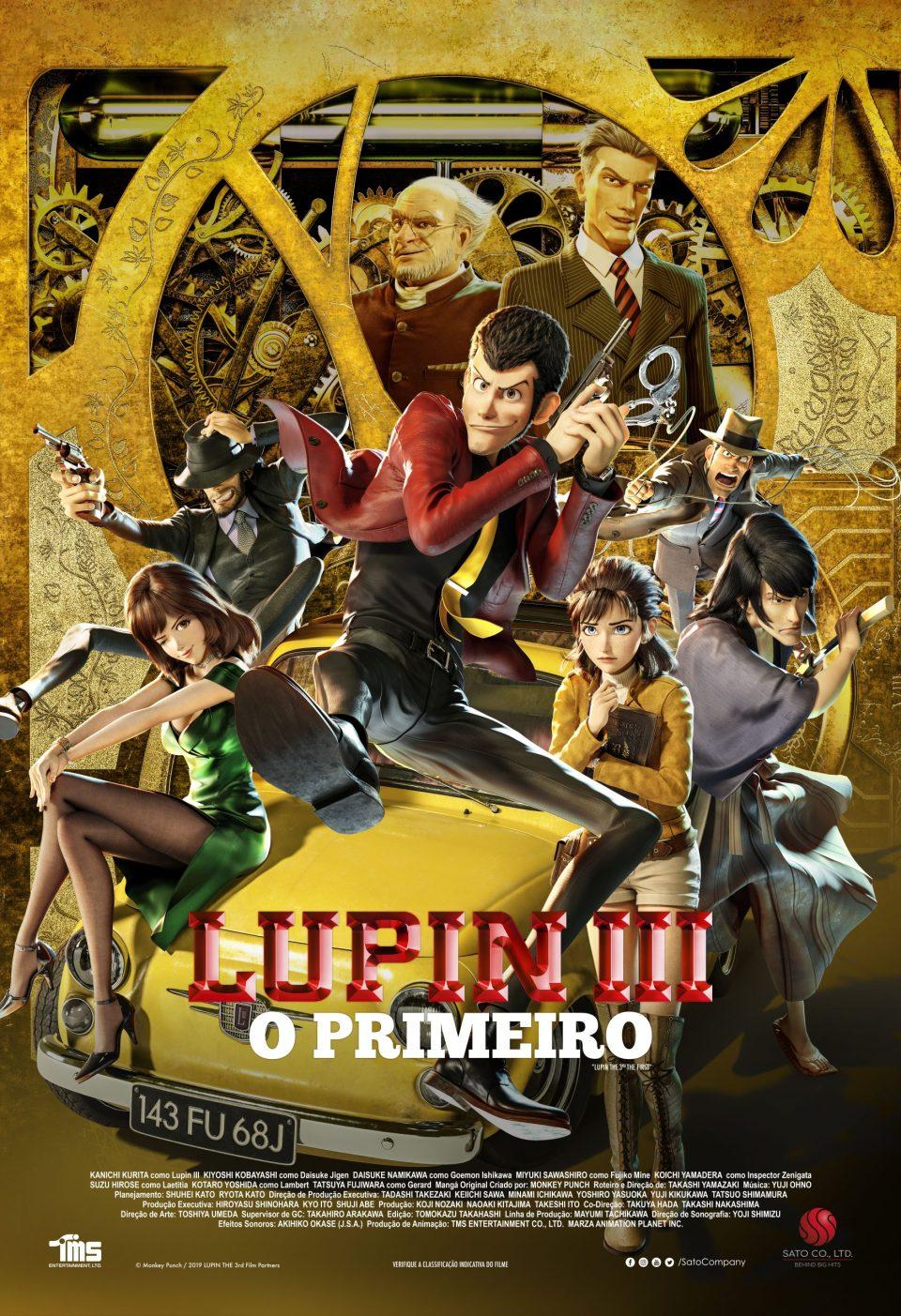 Lupin 3 cartaz