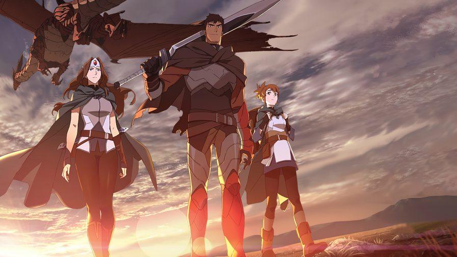 Os personagens de Dota: Dragon's Blood