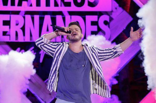 Matheus Fernandes é top10 no spotify