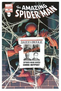 Amazing Spider-Man #666 Comic Outpost Retail Variant 1 of 276
