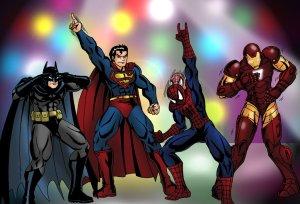 Marvel X DC Dance Off ©2011-2015 taresh