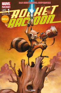 Rocket Raccoon #1 Copyright 2015 Panini Verlags GmbH