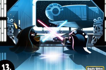 Angry Birds Star Wars Darth Vader vs Obi Wan